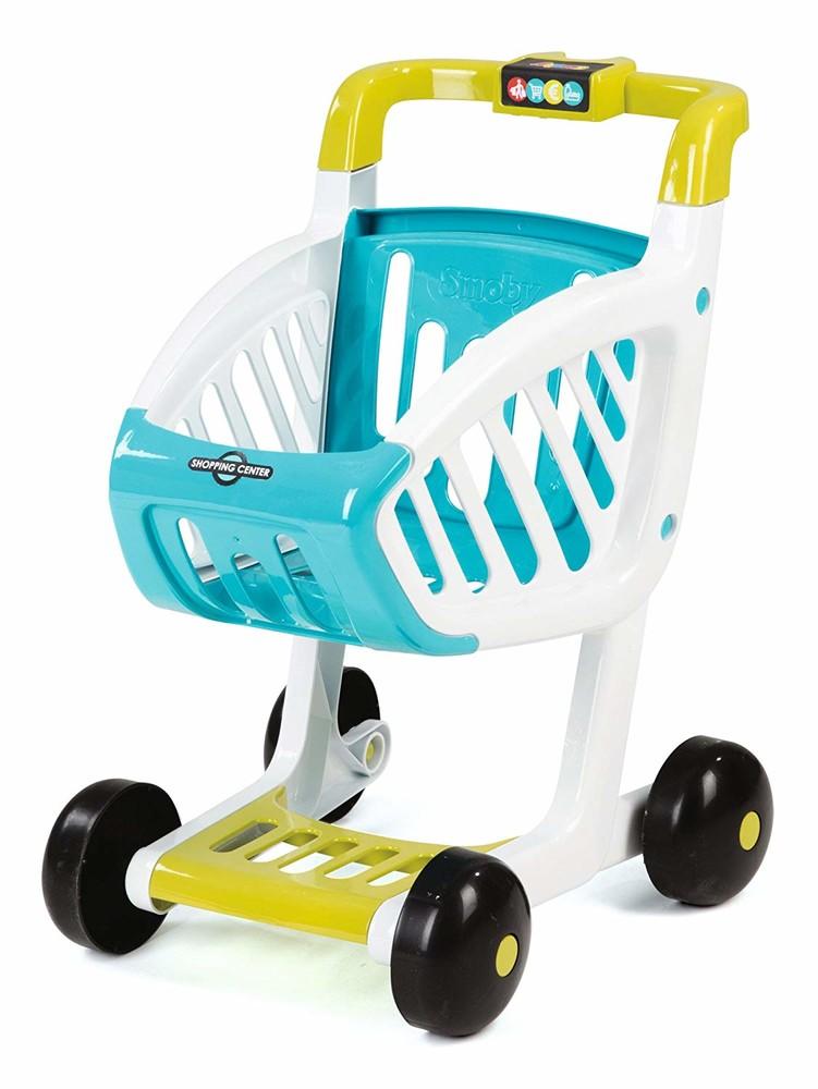 Интерактивный супермаркет smoby toys market со звуковыми эффектами, тележкой и аксессуарами 350212 фото №2