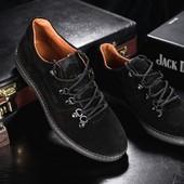 Мужские замшевые повседневные ботинки Clarls, код gavk-655-2