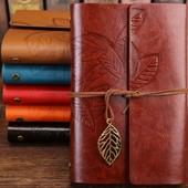 Винтажный подарочный блокнот А5 brown