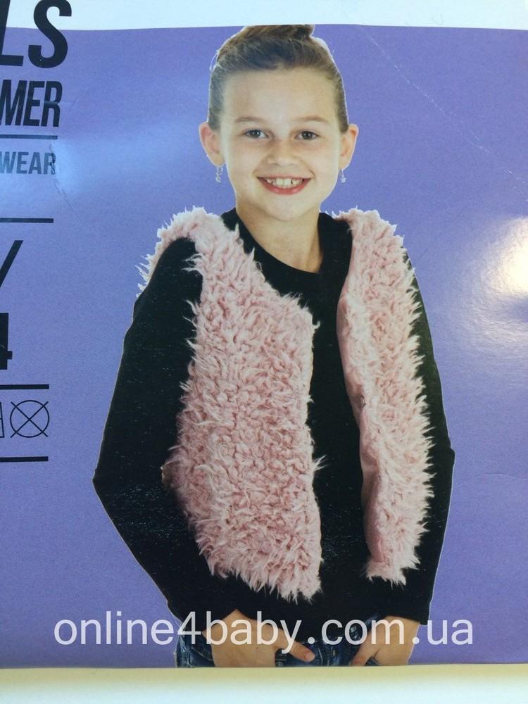 Детская жилетка fashion favorit на девочку 2-4, 8-10 лет, рост 98-104,134-140 фото №1