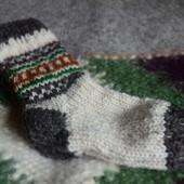 Носки натуральные шерстяные,овечья шерсть,ручная робота