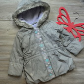 Куртка деми с цветочками Bluezoo (1,5-2 года)