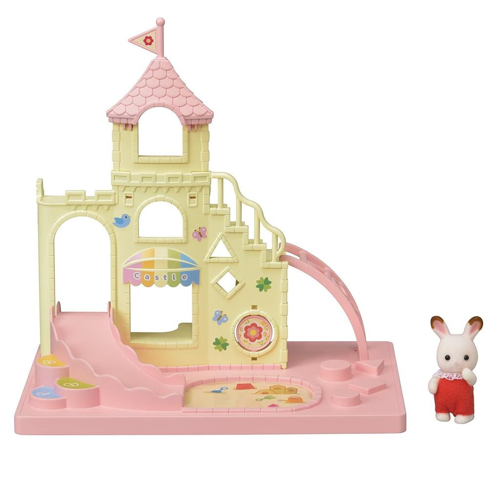 Набор сильваниан фэмилис игровая площадка замок epoch sylvanian families baby castle playground фото №1