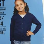 Кофта кардиган джемпер Fashion girl на девочку 2-4 года, рост 98-104