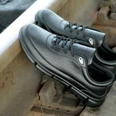 Мужской туфель кроссовок Ecco на пена подошве , отличное качество по приемлемой цене