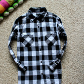 Мега крутая рубашка теплая на 12 л