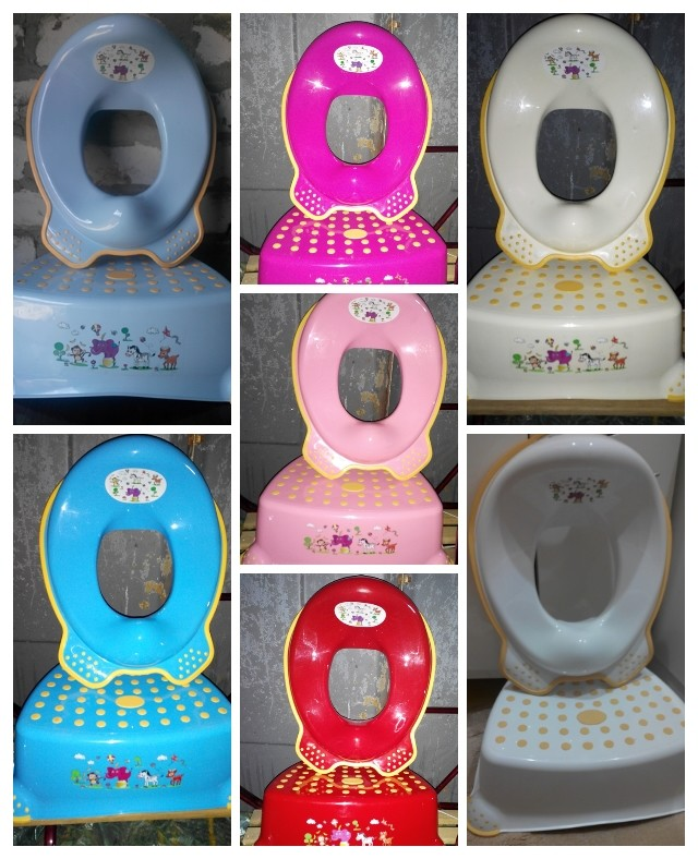 Комплект набор поставка накладка сиденье детское в ванну под унитаз умывальник фото №1