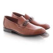 Оригинальные мужские туфли коричневого цвета