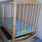 Кроватка малышу 0-3года