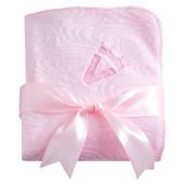 Плед подарочный Нежность,розовый