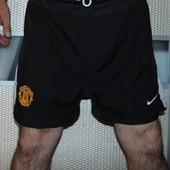 Спортивние фирменние оригинал футбольние шорти труси Nike ф.к Манчестер .хл .
