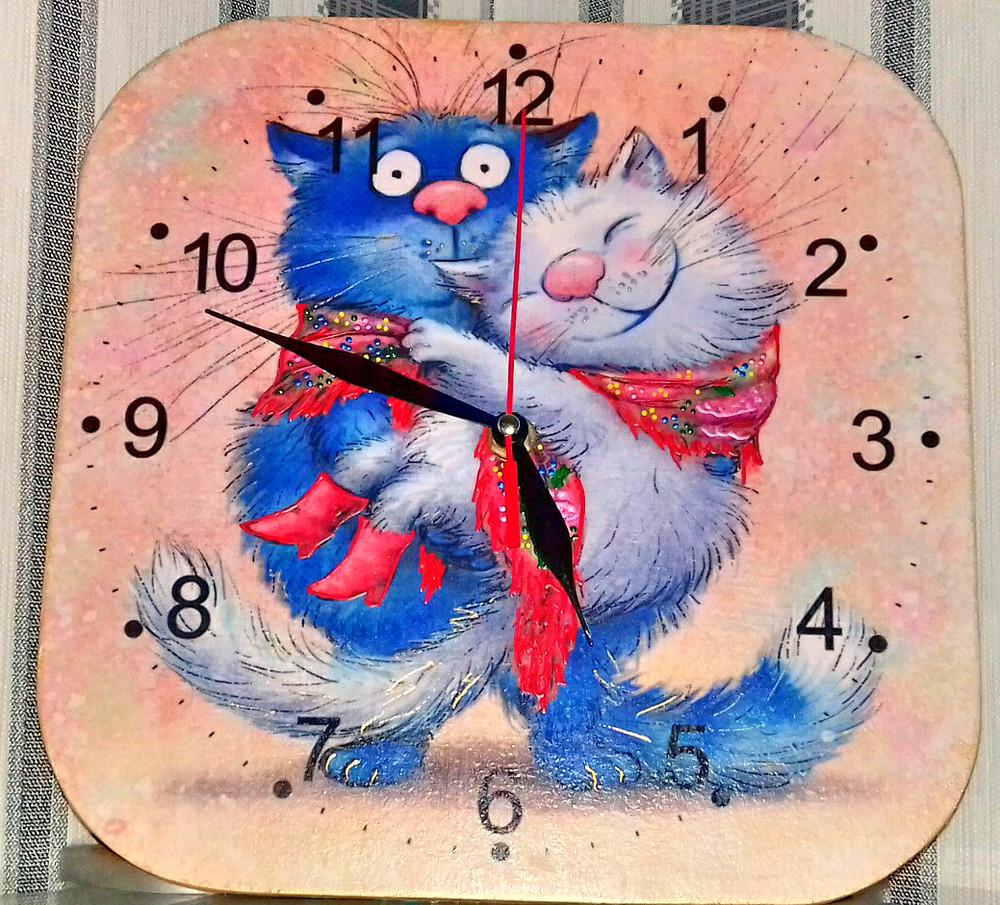 Часы-панно) ручная работа фото №1