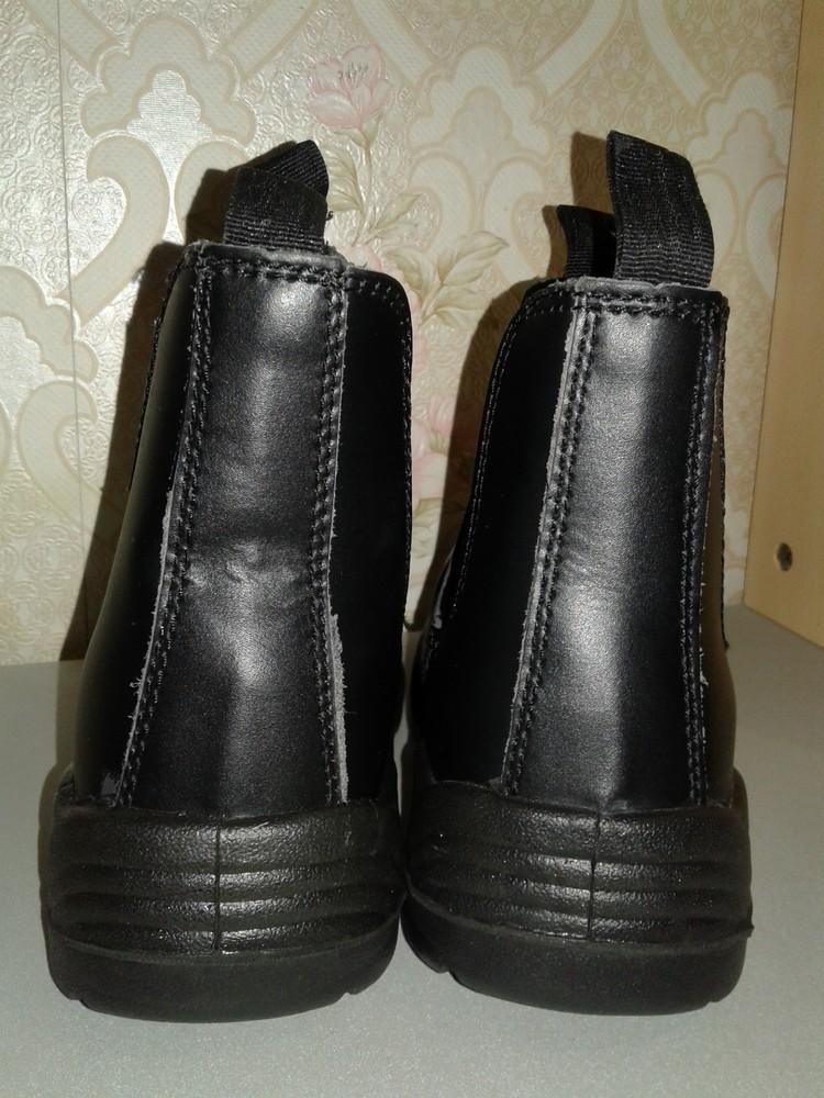 Кожаные рабочие ботинки. спецобувь. размер 39. фото №9