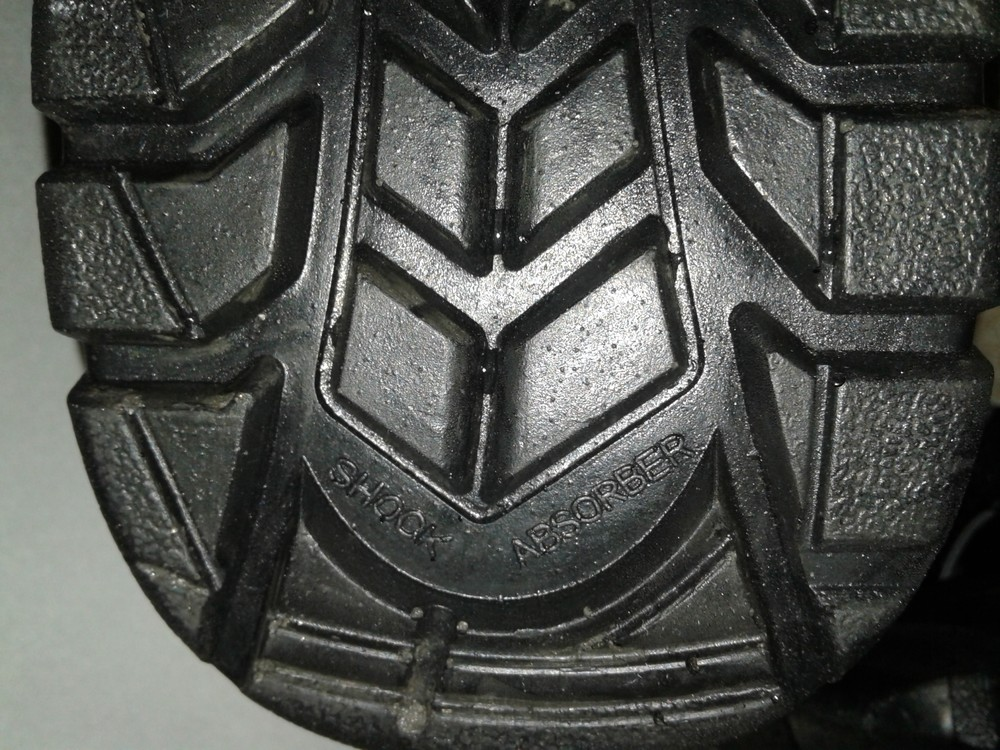 Кожаные рабочие ботинки. спецобувь. размер 39. фото №13