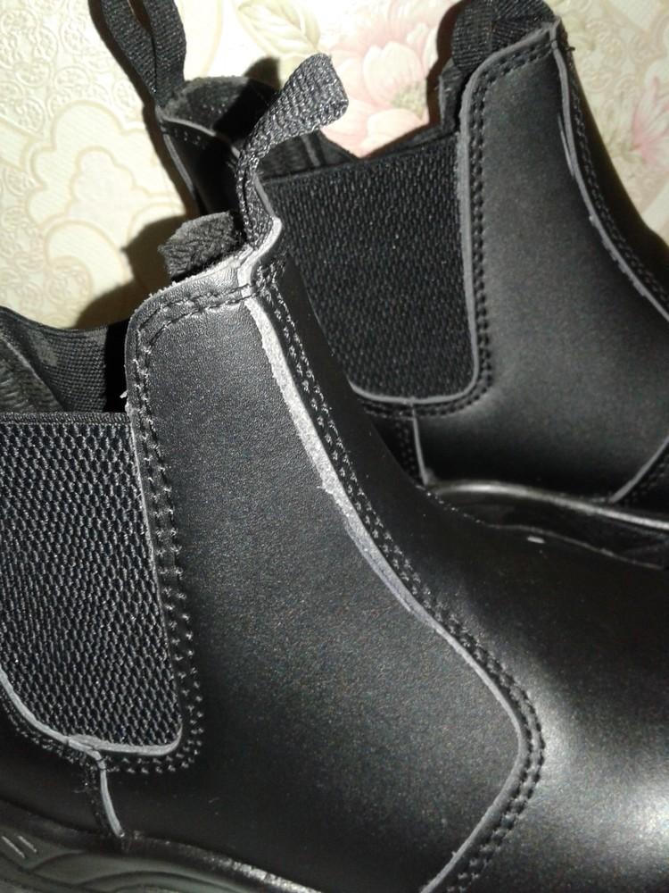 Кожаные рабочие ботинки. спецобувь. размер 39. фото №4