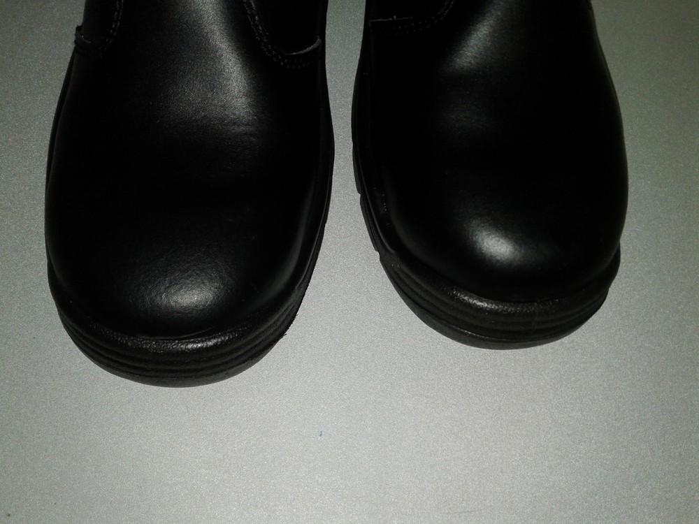 Кожаные рабочие ботинки. спецобувь. размер 39. фото №6