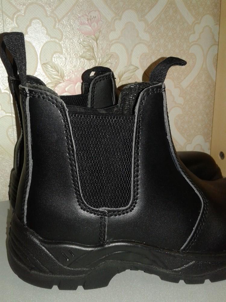 Кожаные рабочие ботинки. спецобувь. размер 39. фото №8