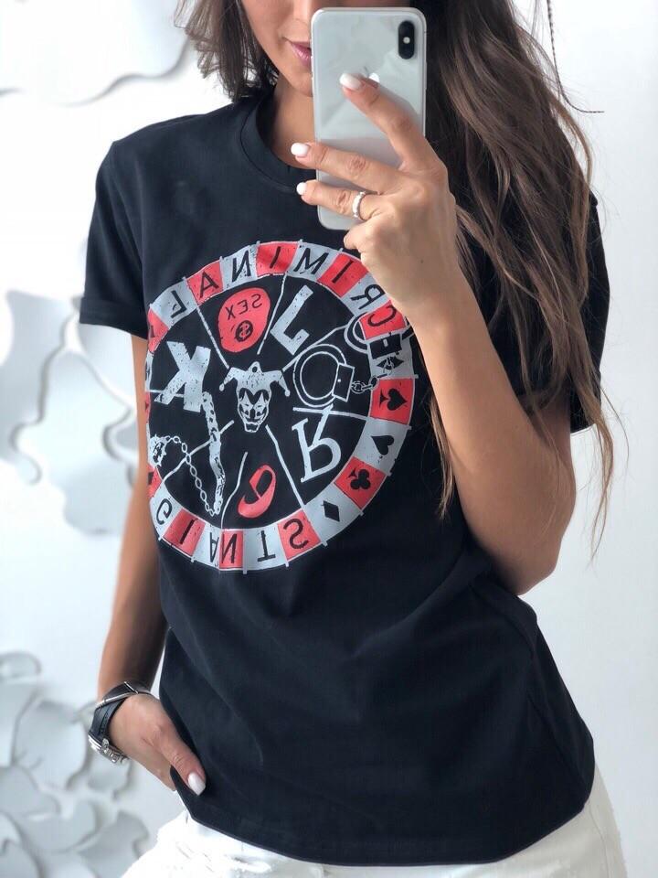 Стильная футболка «criminai фото №1