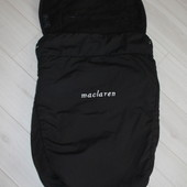 Накидка на ножки чехол мешок футмуф в коляску Maclaren