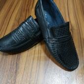 Туфли мужские,кожа