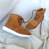 Код: Q1709 Ботинки женские коричневые
