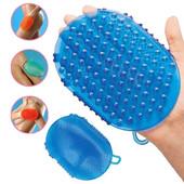 Силиконовая рукавица для массажа