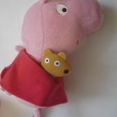 Мягкая игрушка Свинка Пеппа 23 см идеал