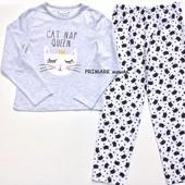 Трикотажная пижама для девочки (8-12 лет) Primark. Читать описание!