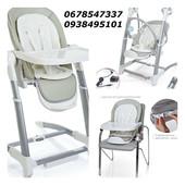 Детский стульчик-электрокачели укачивающий центр 3в1 El Camino, SG116-11 серый