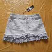 поб 44-46, джинсовая юбка Debenhams,Великобритания