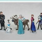 Игрушки набор Фрозен Холодное сердце Frozen анна-єльза-кристофф-олаф