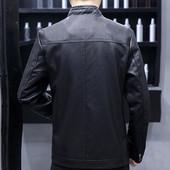 куртка из качественной экокожи для настоящих мужчин