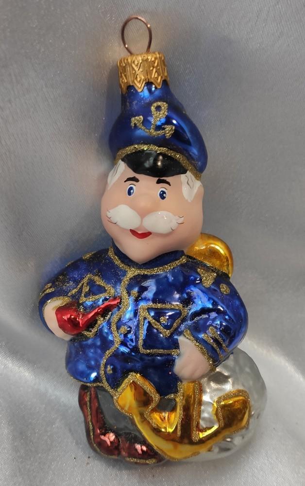 Стеклянная игрушка капитан врунгель фото №1