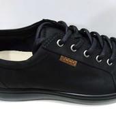 Полуспортивные мужские туфли ecco 40; 41; 44; 45 размер