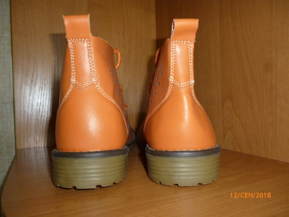Ботинки кожа 41 р. фото №4