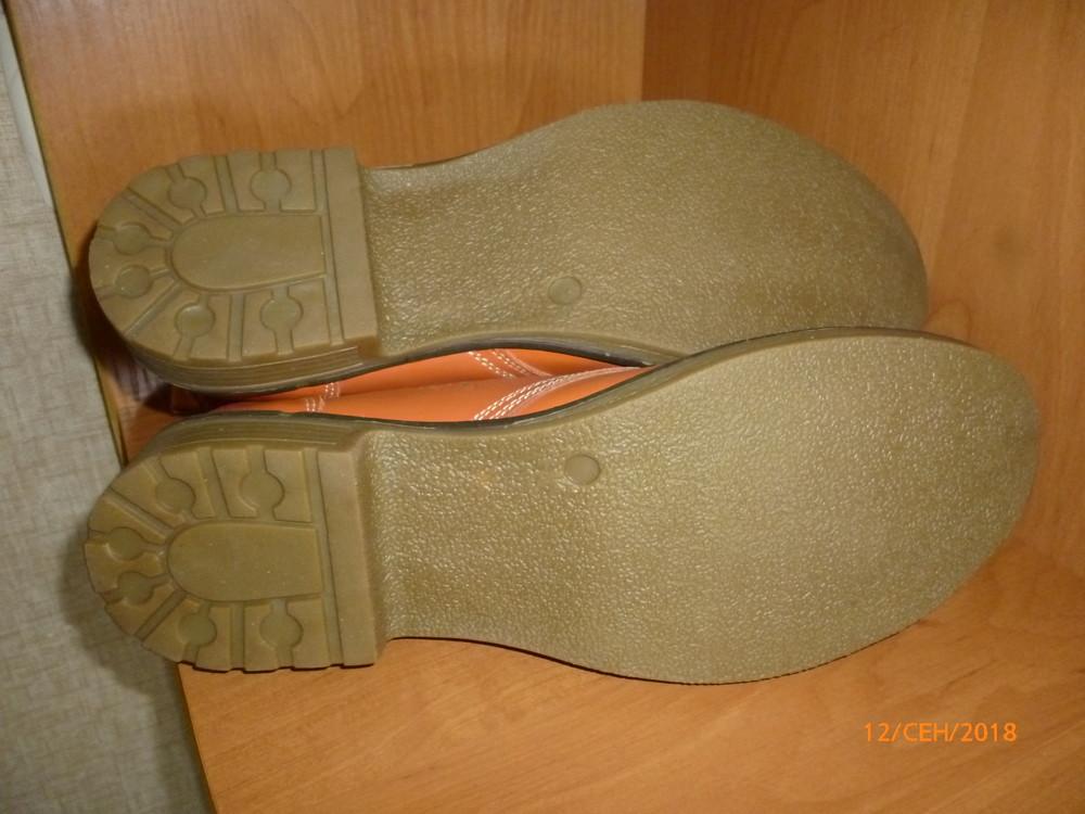 Ботинки кожа 41 р. фото №5