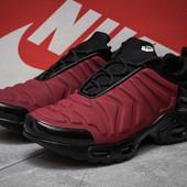Кроссовки мужские Nike Tn Air, бордовые (14605), р. 41 - 46