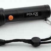 Фонарь ручной светодиодный Police с линзой