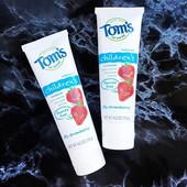 Tom's of Maine, Детская зубная паста без фтора, Клубничный вкус, 4,2 унции (119 г)