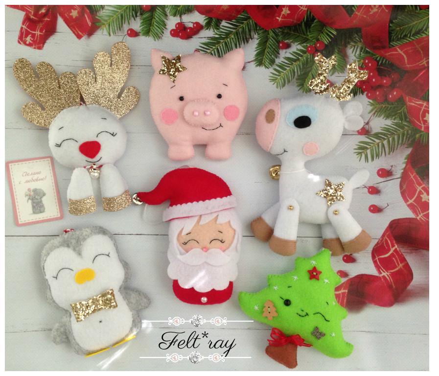 Новогодние игрушки фото №1
