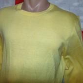 Стильная ультра легкая фирменная кофта свитр бренд Benetton (Бенеттон).м .