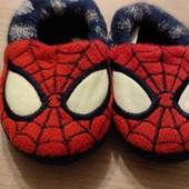Тапочки Спайдермен 23 размер 13,5 см