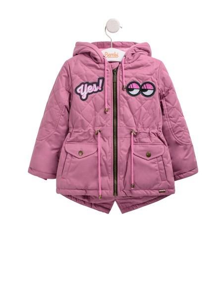 Бемби, куртка - парка для девочки yes, демисезонная р 140, бесплатная доставка фото №1