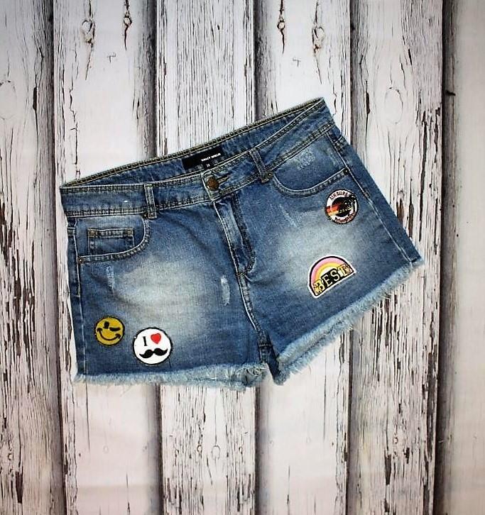 Джинсовые шорты tally weijl p. m фото №1 53f3540fc655f