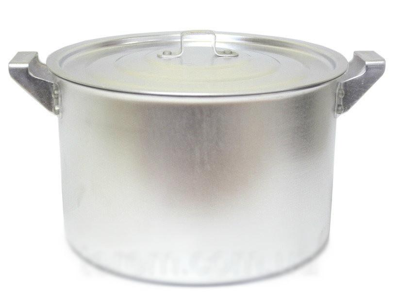 Кастрюля алюминиевая цилиндрическая 6л китай-алюминий фото №1