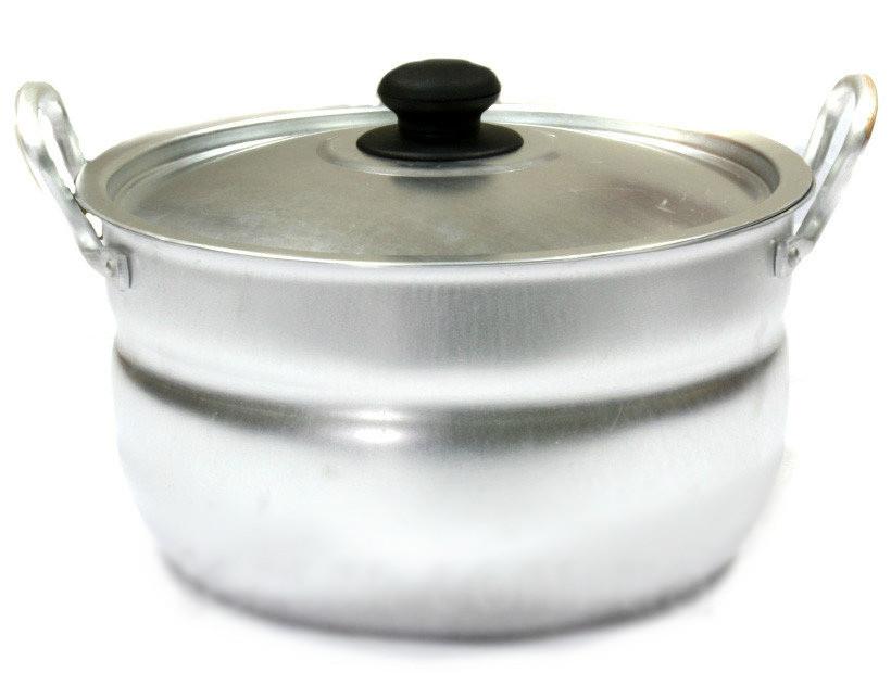 Кастрюля алюминиевая сферическая 13л китай-алюминий фото №1