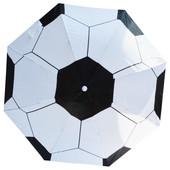 Детский зонт-трость футбольный мяч 481-11 (механика)