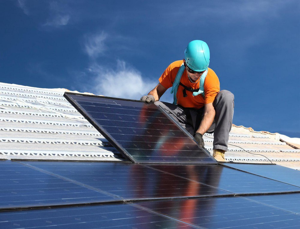 Монтаж сонячних електростанцій(батарей).солнечные батареи(электростанции).солнечные коллекторы фото №1