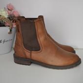 Ботинки челси Svea 38р 24,5см Кожа