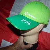 Стильная фирменная кепка бейсболка бренд Vaudoise. м-л-хл